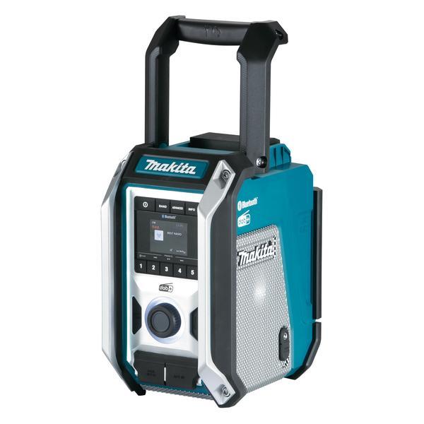 Makita DMR115 radio Cantiere Nero, Blu