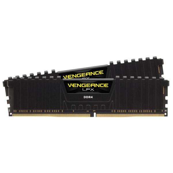 16GB (2x8GB) Corsair Vengeance LPX schwarz DDR4-3600 RAM CL20 Speicher Kit
