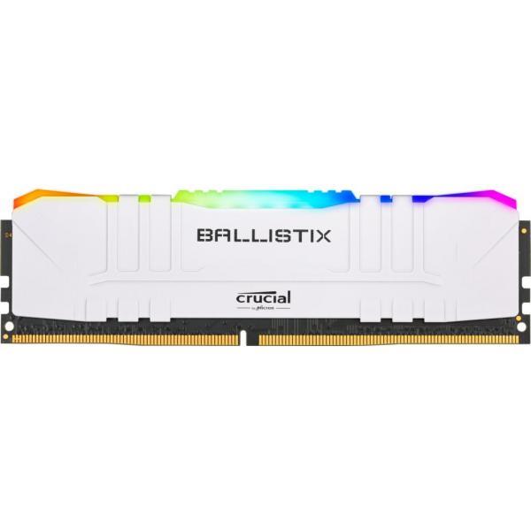 16GB (2x8GB) Crucial Ballistix RGB DDR4-3200 White CL16 RAM Speicher Kit