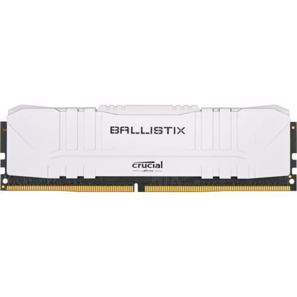 16GB (2x8GB) Crucial Ballistix DDR4-3200 White CL16 RAM Speicher Kit