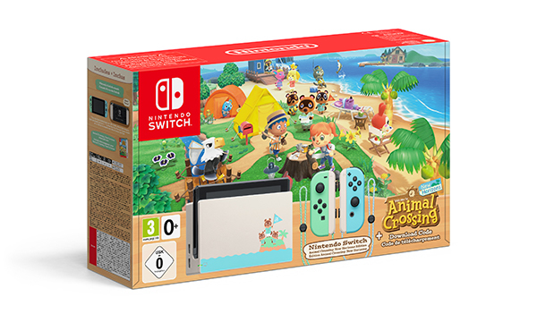 Console Nintendo Switch AC Ed. Grafica Dedicata a Animal Crossing