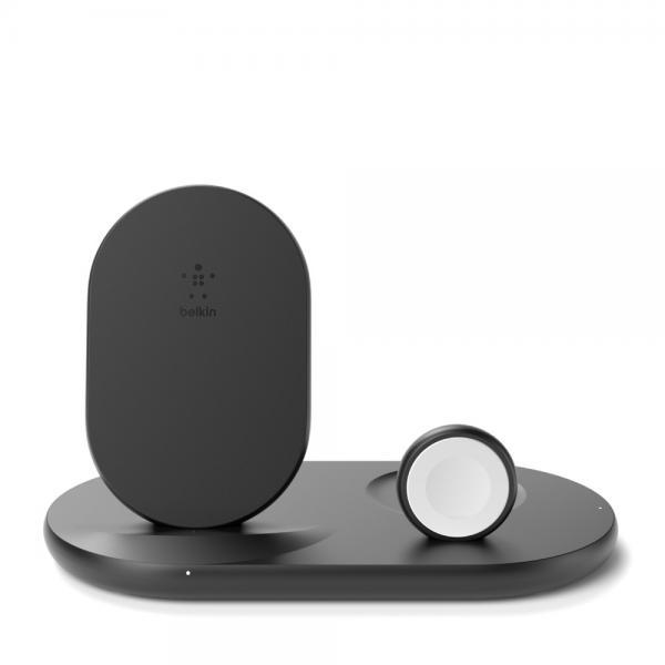 Belkin BOOST?CHARGE™?3-in-1-Ladegerät für Apple Watch iPhone und AirPods schwarz