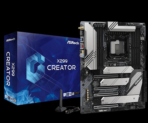 Asrock X299 Creator LGA 2066 ATX Intel® X299