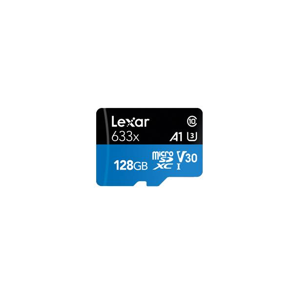 Lexar 633x memoria flash 128 GB MicroSDXC UHS-I Classe 10