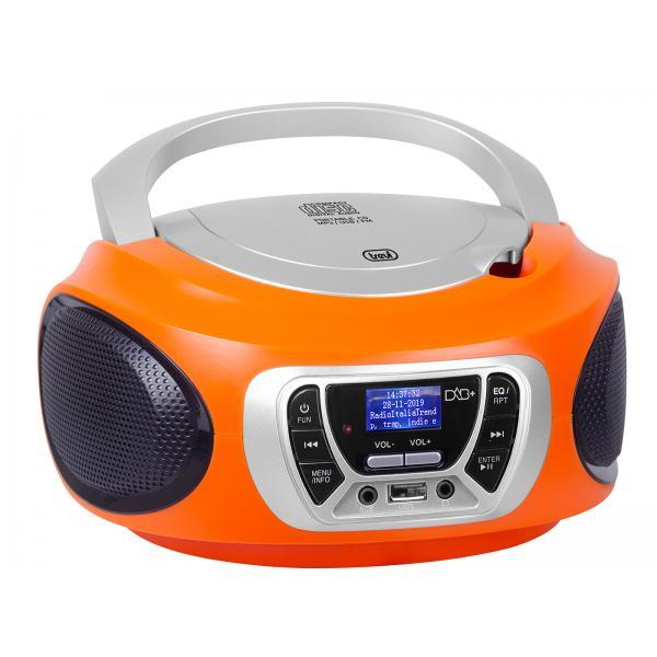 Trevi CMP 510 DAB Digitale Arancione