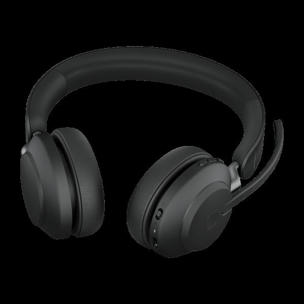 Jabra Evolve 2 65 UC Wireless Bluetooth Stereo USB-C Headset schwarz