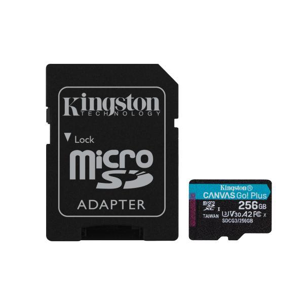 Kingston Technology Canvas Go! Plus memoria flash 256 GB SD UHS-I Classe 10