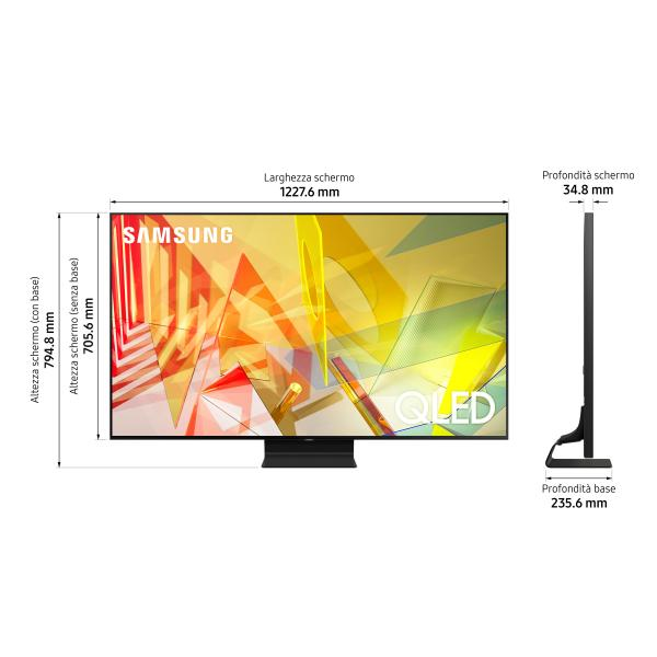 SAMSUNG LCD QE 55Q90TA QLED 4K