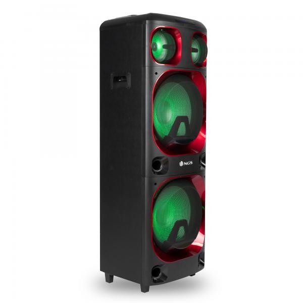 Altoparlante Bluetooth NGS Wild Ska 3 120W Nero