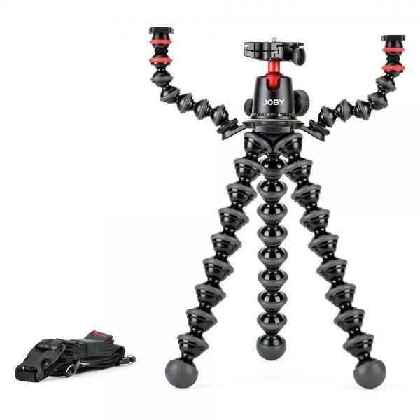Joby GorillaPod Rig treppiede Fotocamere digitali/film 3 gamba/gambe Nero, Corallo