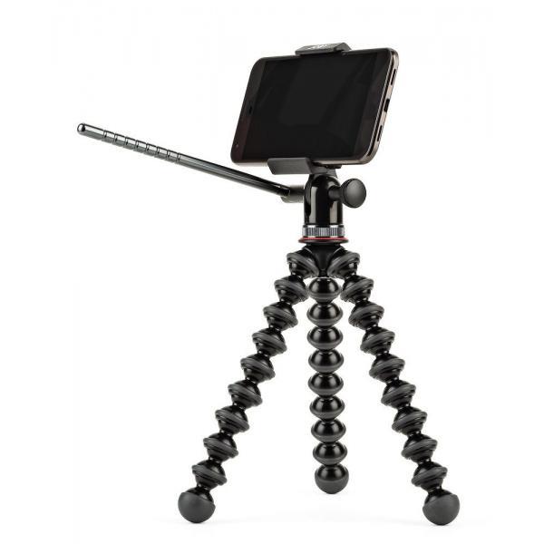 Joby GripTight GorillaPod Video PRO treppiede Smartphone/fotocamera di azione 3 gamba/gambe Nero