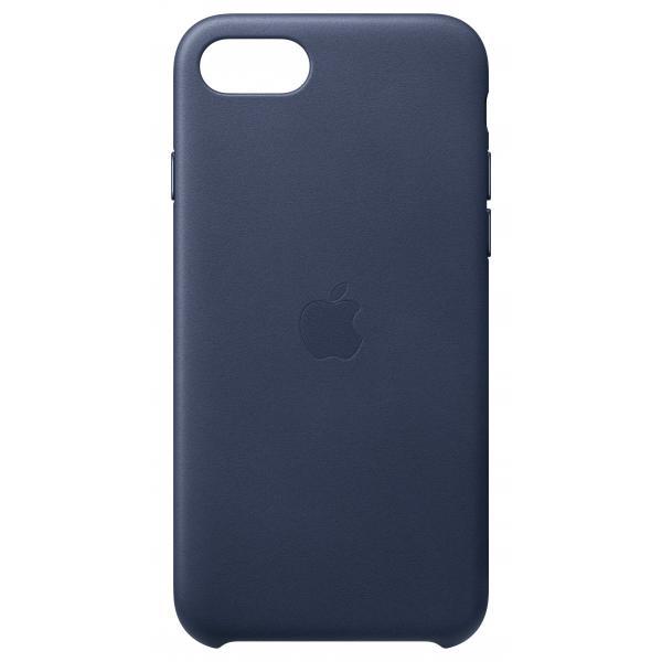 Apple Custodia in pelle per iPhone SE - Blu notte