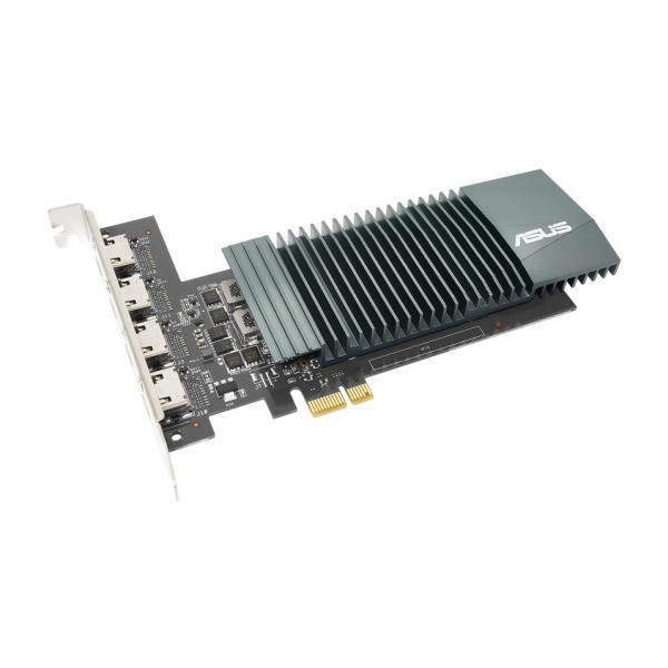 Asus GeForce GT 710-4H-SL-2GD5 2GB GDDR5, 4x HDMI passiv low profile