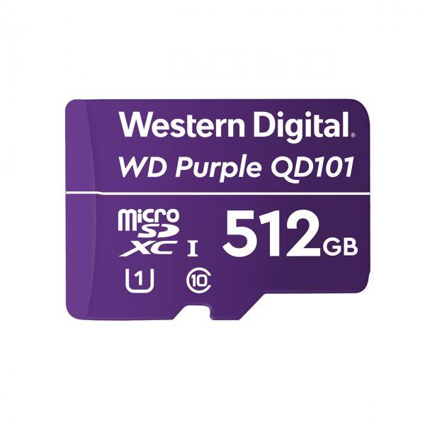 Western Digital WD Purple SC QD101 memoria flash 512 GB MicroSDXC Classe 10