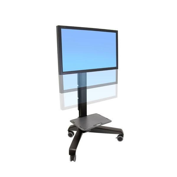 Ergotron Neo-Flex Mobile MediaCenter UHD Pannello piatto Multimedia cart Nero 0698833016154 24-192-085 04_90485394
