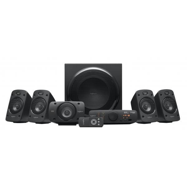 Logitech Z906 5.1canali 500W Nero set di altoparlanti 5099206023536 980-000468 07_35198