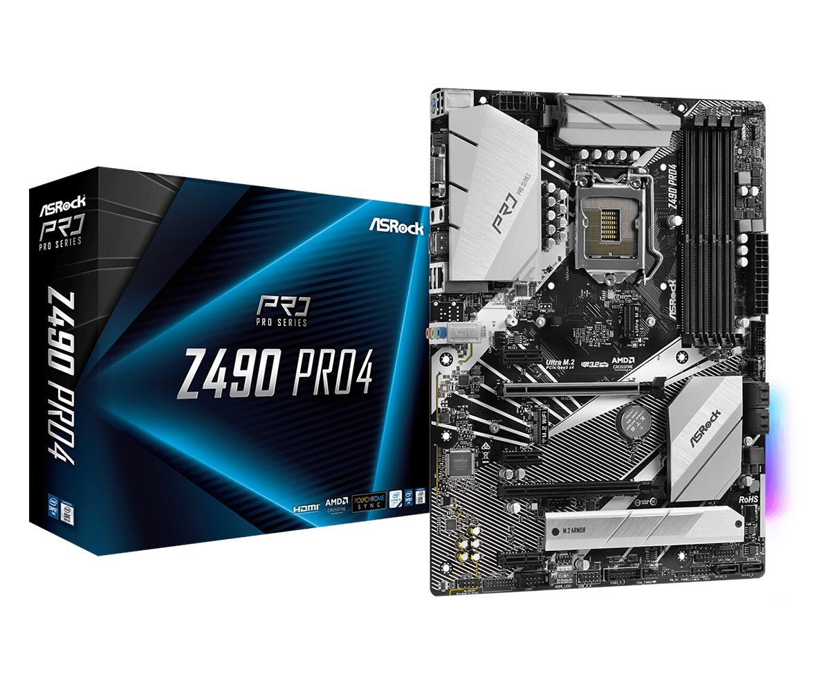 Asrock Z490 Pro4 Intel Z490 ATX