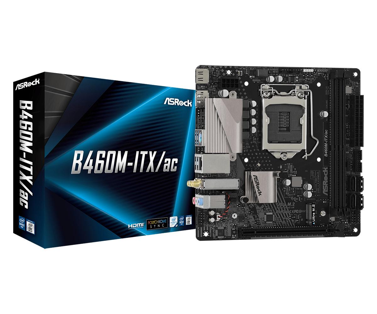 Asrock 90-MXBCS0-A0UAYZ scheda madre Intel B460 LGA 1200 mini ATX