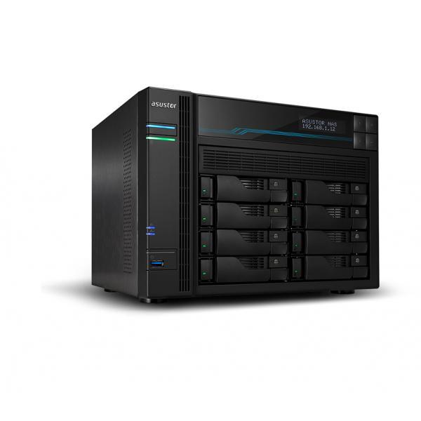 Asustor AS6510T C3538 Collegamento ethernet LAN Tower Nero NAS