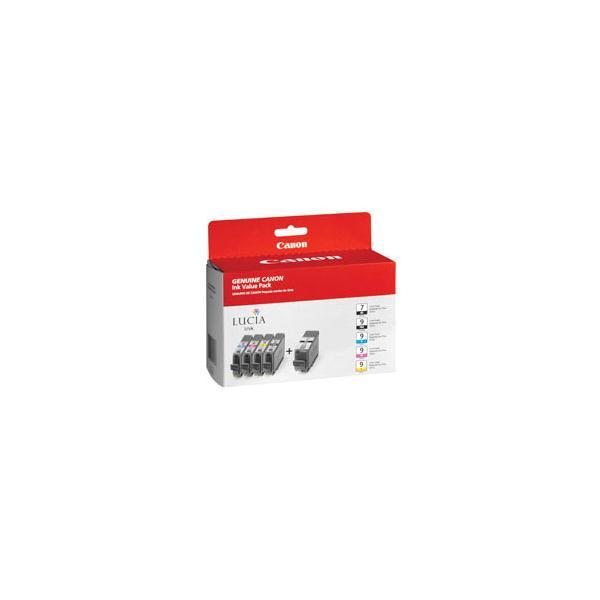 Canon PGI-9 Nero, Ciano, Pigmento nero, Giallo cartuccia d'inchiostro  1033B011 TP2_1033B011