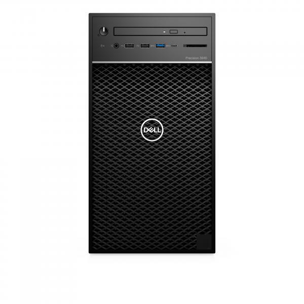 Dell Precision 3640 MT T5FDJ i7-10700 8GB/256B SSD DVD-RW Win10 Pro