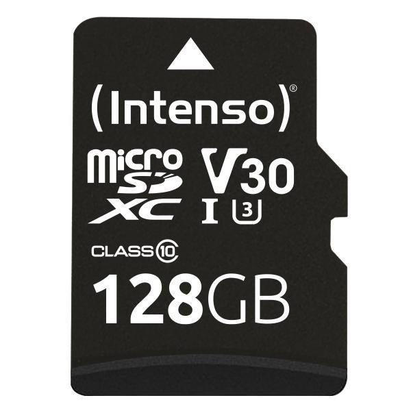 Intenso microSDXC 128GB Class 10 UHS-I Professional - Extended Capacity SD (MicroSDHC) memoria flash Classe 10