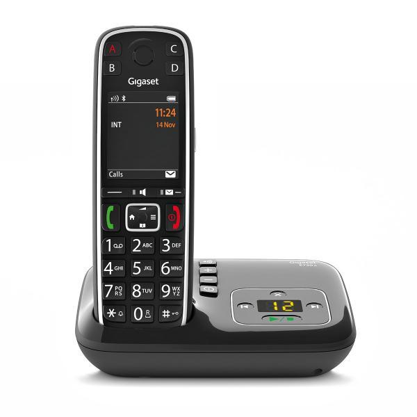 Gigaset E720A Telefono analogico/DECT Identificatore di chiamata Nero