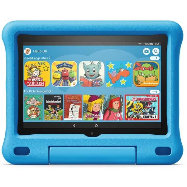 Amazon Fire HD 8 Kids Edition Tablet WiFi 32GB mit blauer Hülle