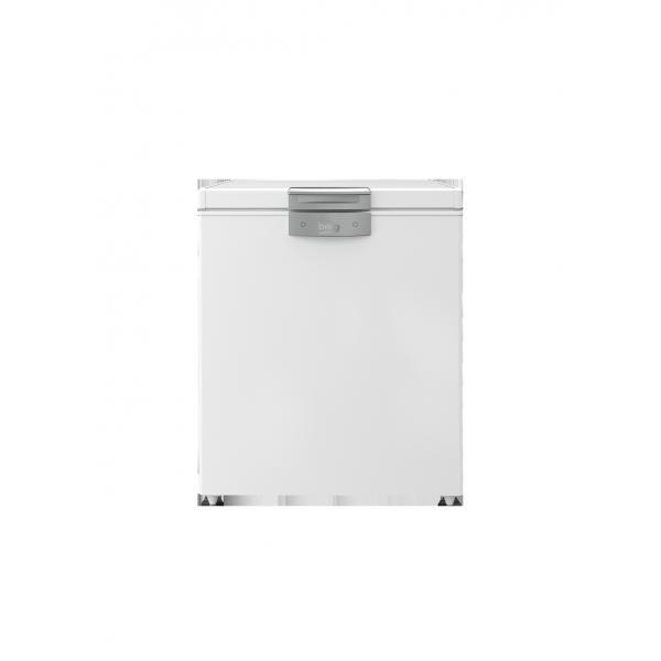 Beko HS221530N - Congelatore Orizzontale a Pozzo, 205 Litri, Classe F (A+), 91.2 x 75.5 x 67.5 cm