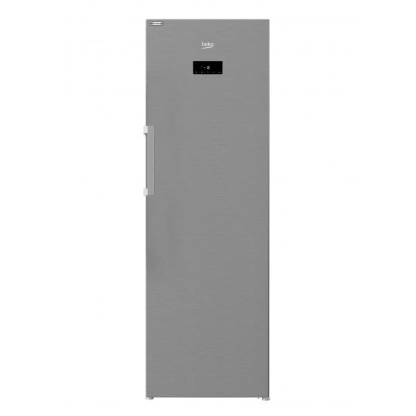 Beko RFNE312E43XN - Congelatore Verticale, Total NoFrost, 282 Litri, Classe E, 185 x 59.5 x 65.5 cm