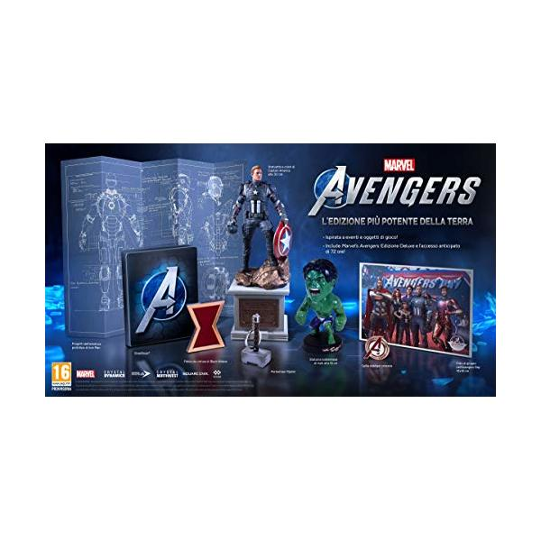 PS4 MARVEL S AVENGERS COLLECTOR