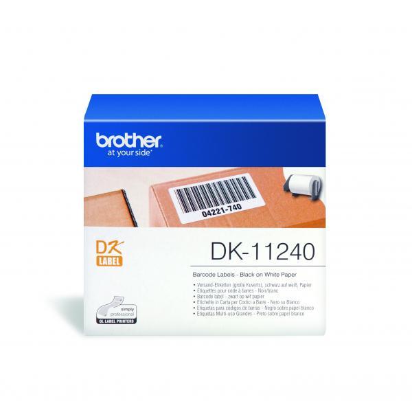 Brother DK-11240 etichetta per stampante Bianco