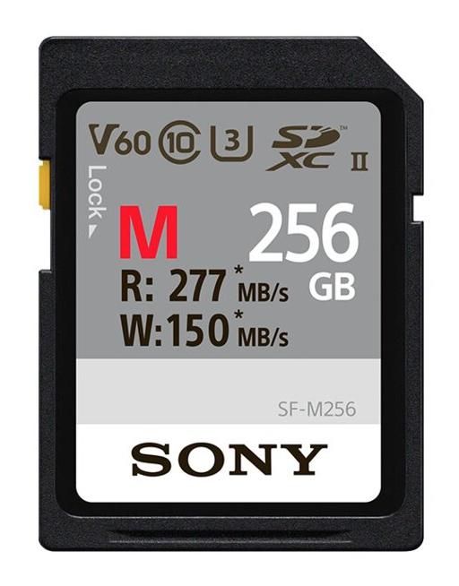 Sony SF-M256 memoria flash 256 GB SD UHS-II Classe 10