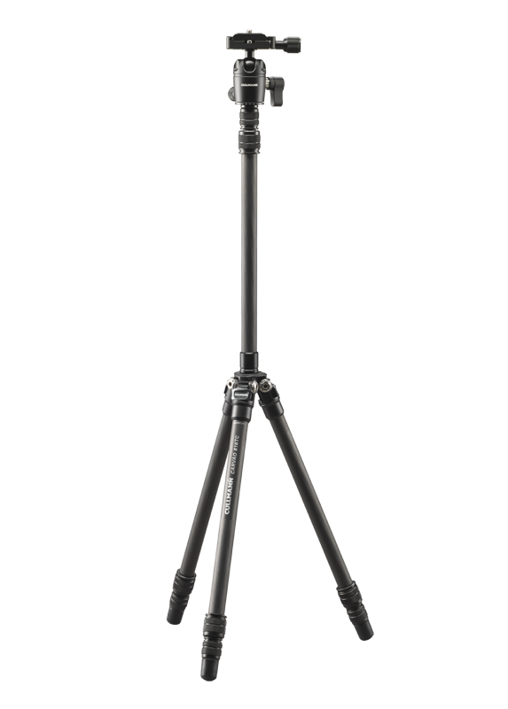 Cullmann Carvao 816TC treppiede Fotocamere digitali/film 3 gamba/gambe Nero