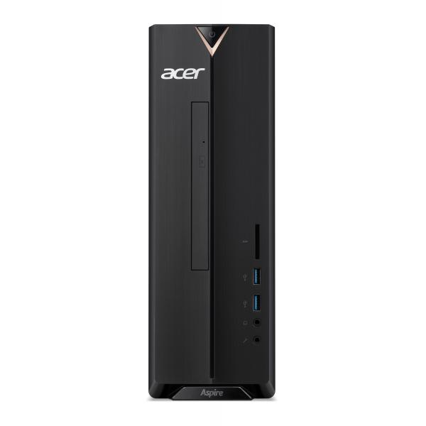 Acer Aspire XC-830 DDR4-SDRAM J5040 Desktop Intel® Pentium® Silver 8 GB 1000 GB HDD Windows 10 Home PC Nero