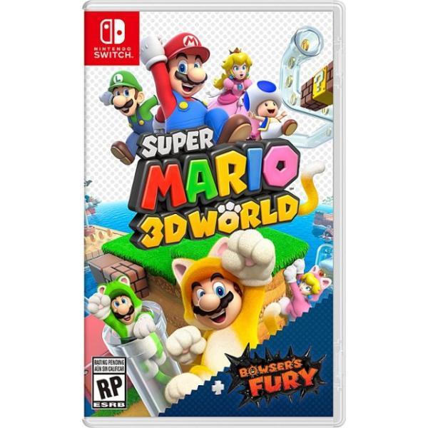 10004580 SWI SUPER MARIO 3D WORLD + BOWSER'S FURY