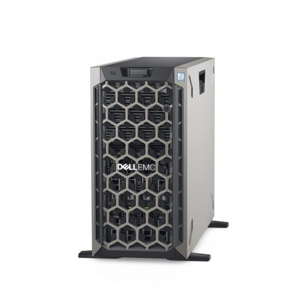 DELL POWEREDGE T440 SERVER TOWER 5U XEON SILVER 4214R 2.4GHz RAM 32GB-SSD 480GB-NO S.O. BLACK (MDVD1) MDVD1