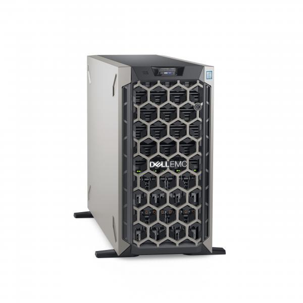 DELL POWEREDGE T640 SERVER TOWER 5U XEON SILVER 4214R 2.4GHz RAM 32GB-SSD 480GB-NO S.O. BLACK (7CX5T) 7CX5T