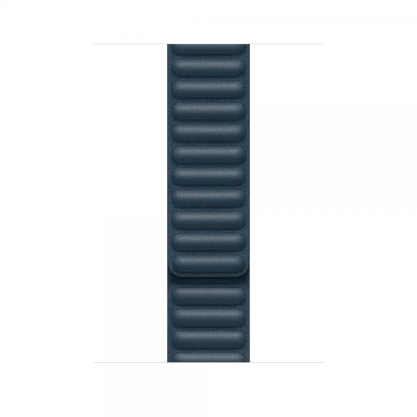 44mm Baltic Blue Leather Link - Large