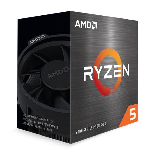 AMD Ryzen 5 5600X (6x 3.7 GHz) Sockel AM4 CPU BOX (Wraith Stealth Kühler)