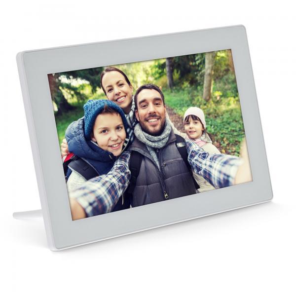 InLine WiFRAME cornice per foto digitali Bianco 25,6 cm (10.1
