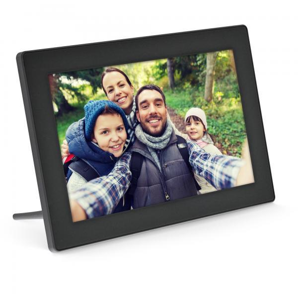 InLine 55821S cornice per foto digitali Nero 25,6 cm (10.1