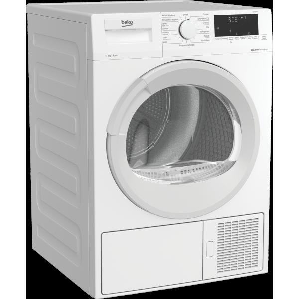 Beko DRX927WN - Asciugatrice a Pompa di Calore, Hygiene Care, 9 Kg, A++