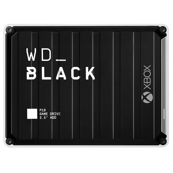 Western Digital P10 disco rigido esterno 2000 GB Nero