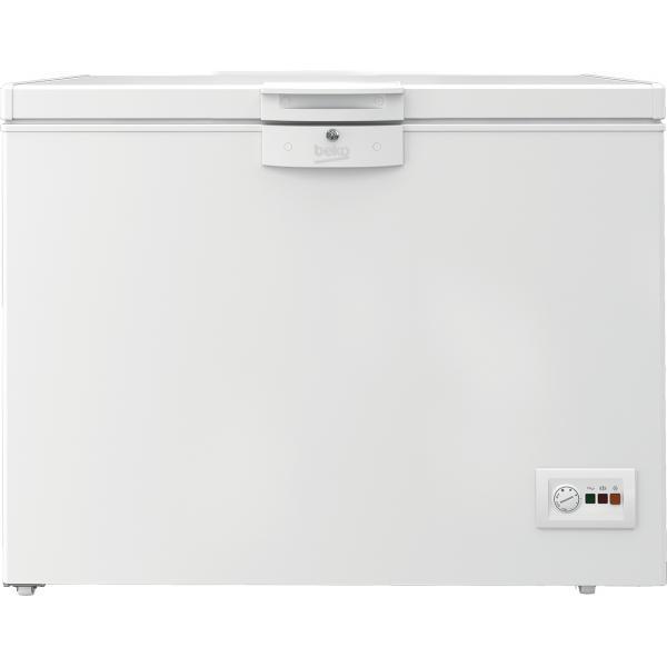 Beko HSA24540N - Congelatore Orizzontale Statico, 230 Litri, Classe E, 86 x 110.5 x 67.5 cm