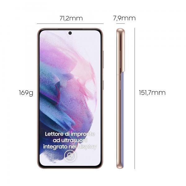 Samsung Mobile SAMSUNG GALAXY S21 128GB 8GB 5G VIOLET