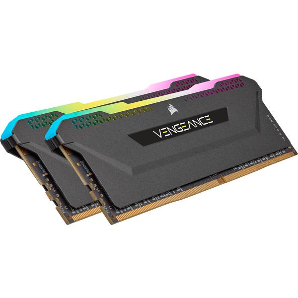 16GB (2x8GB) Corsair Vengeance RGB PRO SL DDR4-3600 RAM CL18 (16-20-20-38) AMD