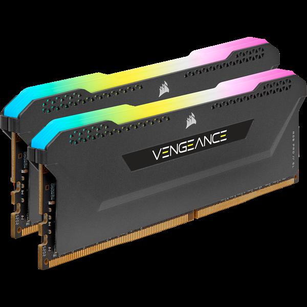 16GB (2x8GB) Corsair Vengeance RGB PRO SL DDR4-3600 RAM CL18 (18-22-22-42) Kit