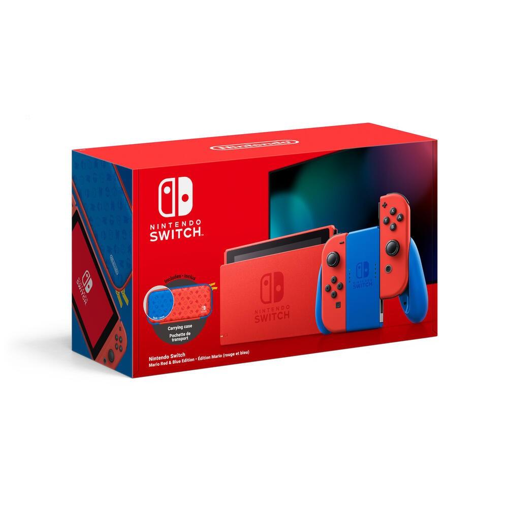 Nintendo Switch Mario Red & Blue Edition console da gioco portatile 15,8 cm (6.2
