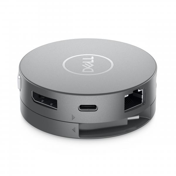 Adattatore Portatile DA310 7 in 1 Interfaccia USB 3.1 Tipo-C Colore Argento